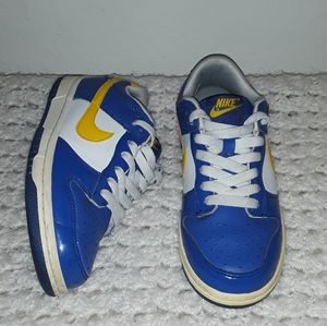 "nike dunk low ""varsity royal"" size 4"